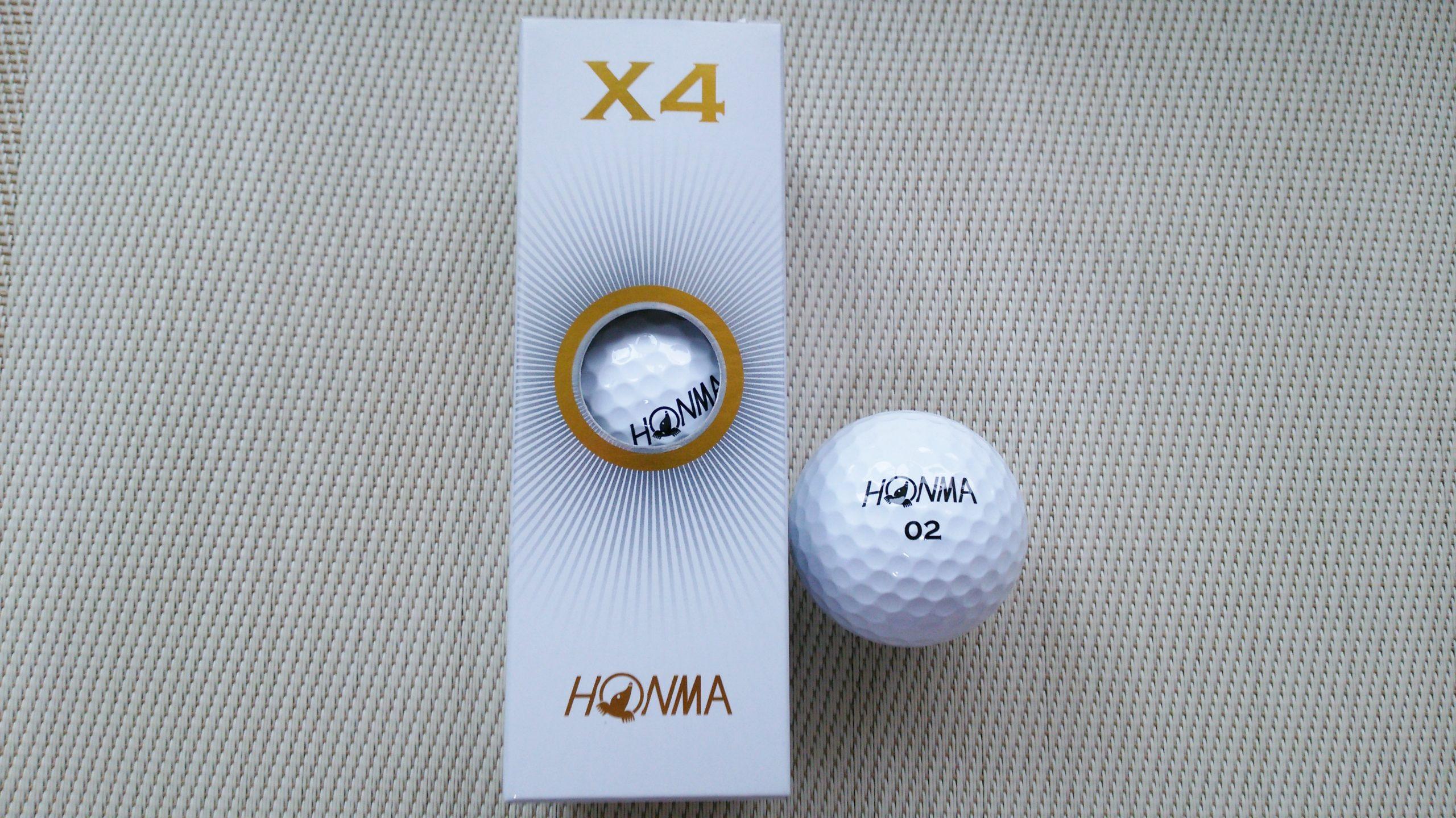 本間ゴルフ X4