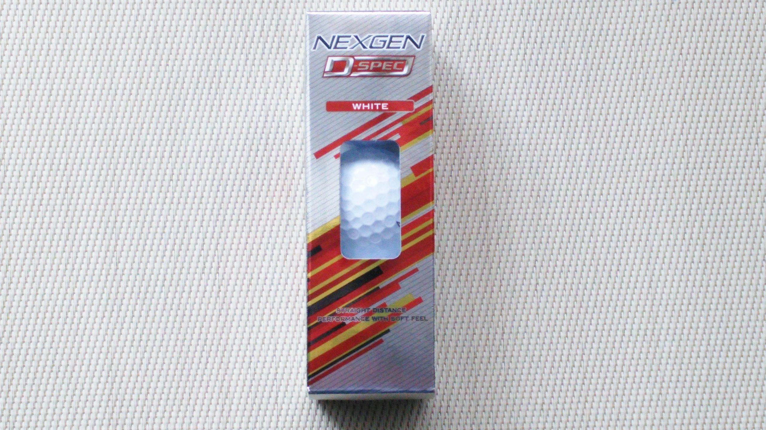 ネクスジェン D-SPEC 箱
